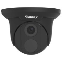 Galaxy Pro 8MP IR Turret IP Camera - 4mm Black
