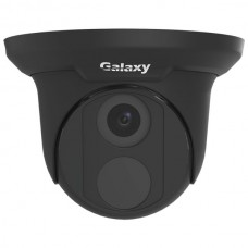 Galaxy Pro 5MP Starlight IR Turret IP Camera - 2.8mm Black