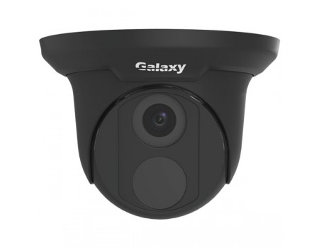 Galaxy Pro 5MP Starlight IR Turret IP Camera - 4mm Black