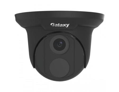 Galaxy Pro 8MP IR Turret IP Camera - 2.8mm Black