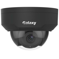 Galaxy Pro 5MP Starlight IR Dome IP Camera - 2.8mm Black