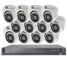 Galaxy Platinum 5MP 12Channel 12Cameras TVI Package