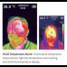 Hand Held Thermal Body Heat Temperature Detector with Camera, Hi Temp Alarm, LCD